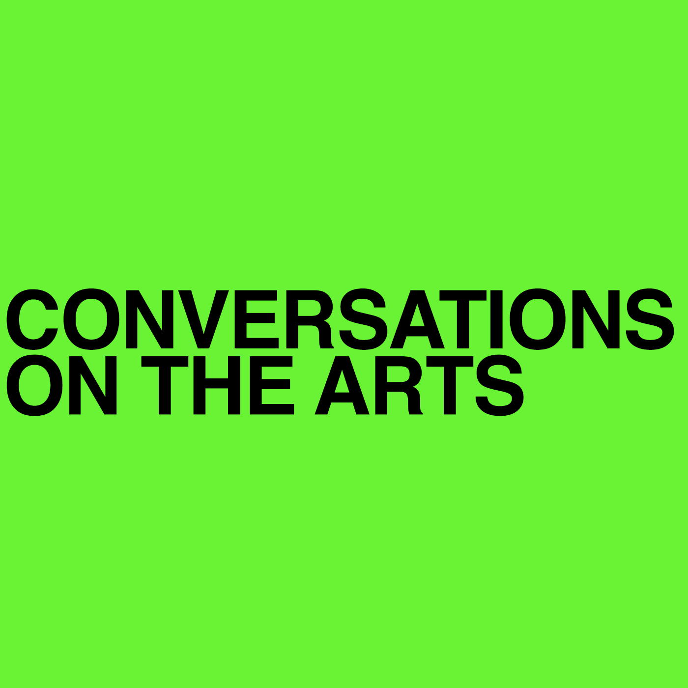 Conversations on the Arts with Irit Krygier